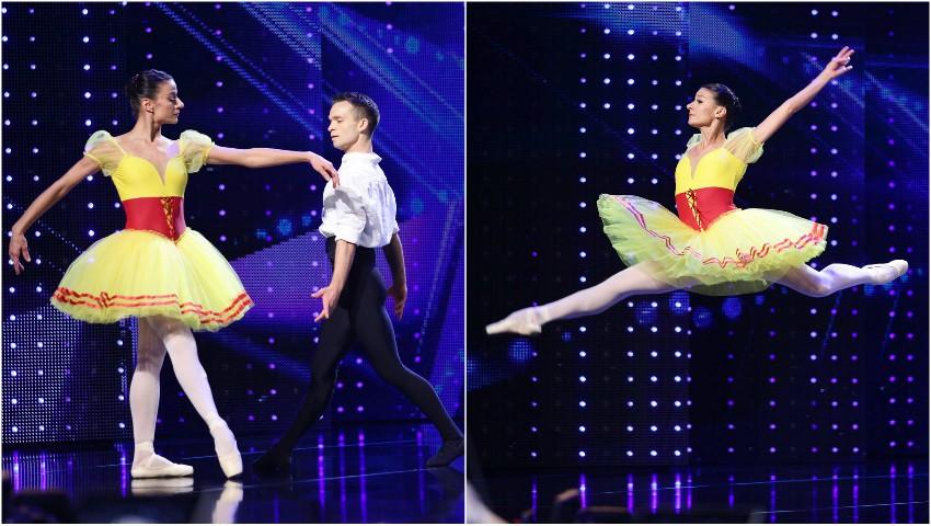 """Foto: Doi artiști de balet din Chișinău i-au cucerit pe jurații emisiunii ,,Românii au Talent""""!"""