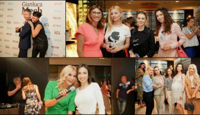 Persoanele publice, dar și toți cei interesați de modul sănătos de viață au participat la showul culinar inedit cu celebrul nutriționist Gianluca Mech!