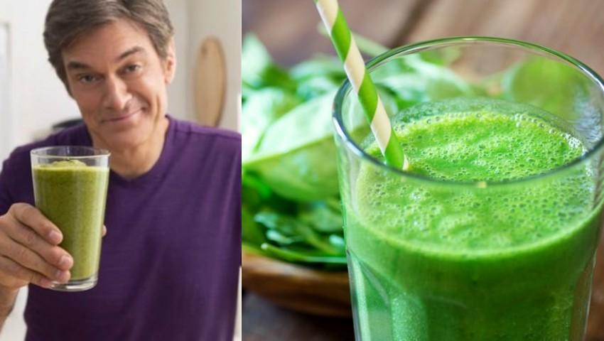 Foto: Dr. Oz a dezvăluit rețeta de suc verde care ajută la hidratare și detoxifiere