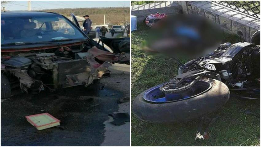Foto: Accident teribil la Fălești: trei oameni au murit pe loc!