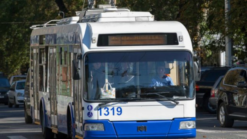 Foto: O nouă linie de troleibuz în municipiul Chișinău. Iată cum va circula!