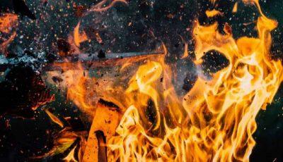 Incendiu în raionul Călărași! Acoperișul unei anexe a fost mistuit de flăcări