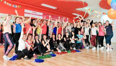 UNICA – Sport Party! Clientele filialei Mircea cel Bătrân au sărbătorit renovarea sălii