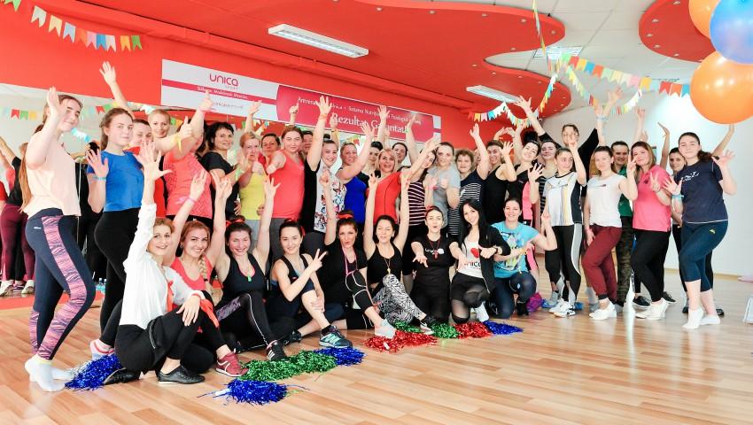 Foto: UNICA – Sport Party! Clientele filialei Mircea cel Bătrân au sărbătorit renovarea sălii