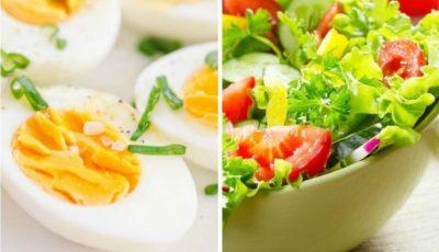 Combinații sănătoase cu ouă în regimul de slăbire