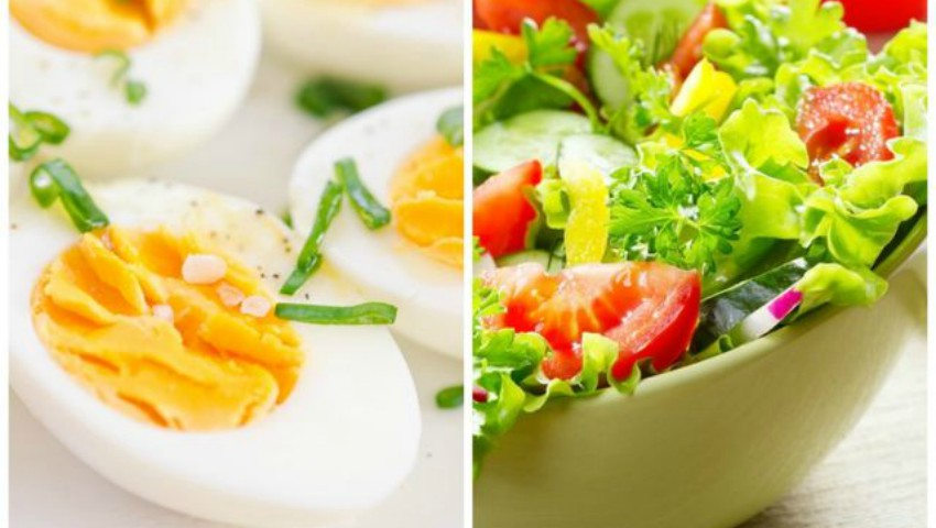 Foto: Combinații sănătoase cu ouă în regimul de slăbire