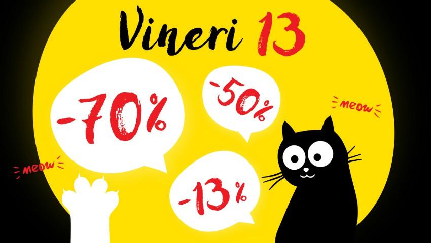 Foto: Vineri 13 – Astăzi este Ziua Ta Norocoasă la Top Shop. Reduceri de la -13% până la -70% la toate produsele!