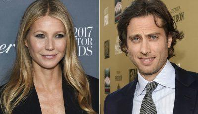 Gwyneth Paltrow și Brad Falchuk s-au căsătorit. Vezi ce rochie a purtat mireasa!