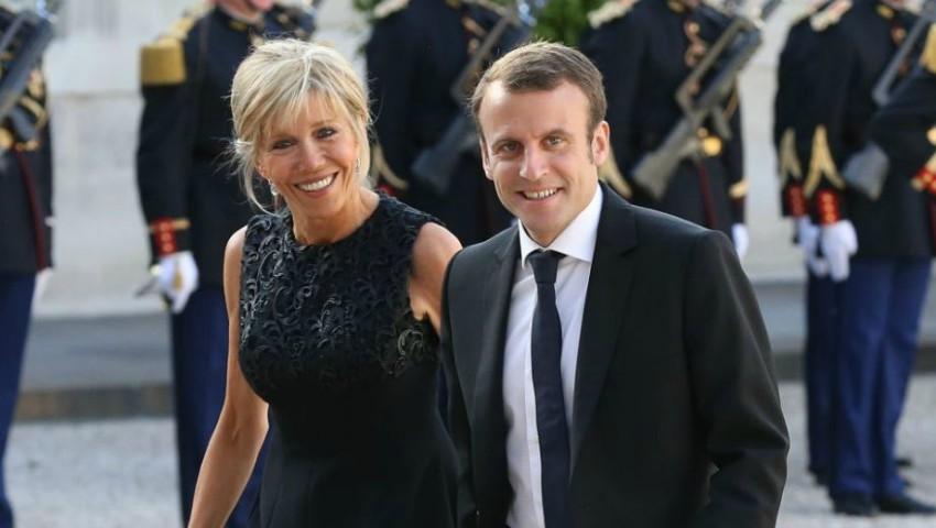 Foto: Cum arată în costum de baie, soția lui Emmanuel Macron?