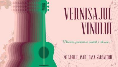 """,,Vernisajul Vinului"""" – un număr record de companii vinicole vor participa la ediția de primăvară a evenimentului dedicat ,,Vinului Moldovei""""!"""