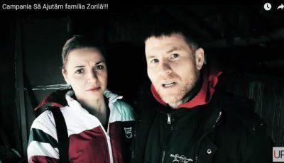 Video. Un puternic incendiu i-a lăsat fără casă. Soții Zorilă cer ajutor!