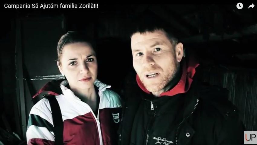 Foto: Video. Un puternic incendiu i-a lăsat fără casă. Soții Zorilă cer ajutor!