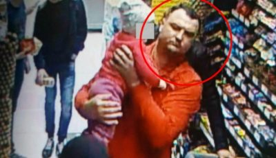 Un bărbat este căutat pentru furtul unui telefon! Dacă îl recunoști anunță poliția