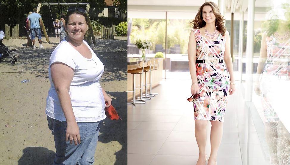 Foto: A slăbit peste 60 de kilograme în 18 luni! Află secretul ei!
