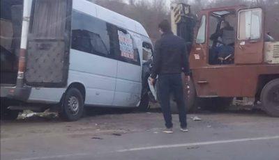 O persoană a decedat într-un tragic accident pe traseul Anenii Noi-Chişinău