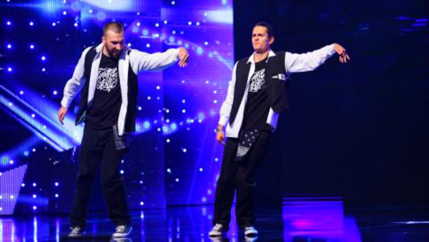 Foto: Românii au Talent! Doi tineri din Chișinău au surprins publicul cu un dans în stil popping