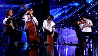 "Video! Orchestra Basarab, din Spania, a luat patru de ,,DA"" la Românii au Talent"