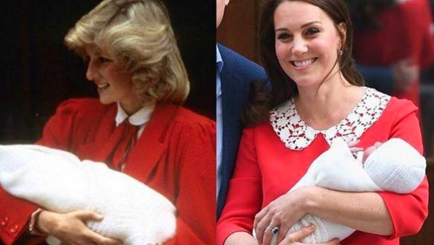 Kate Middleton a purtat o rochie inspirată de ținuta Dianei, atunci când l-a prezentat lumii pe Prințul Harry