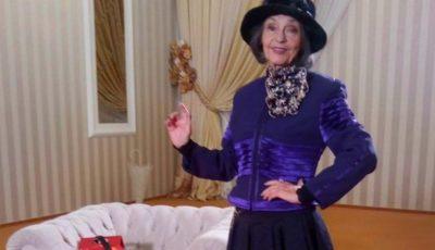 Marina Voica a împlinit 81 de ani și face o sută de genuflexiuni pe zi