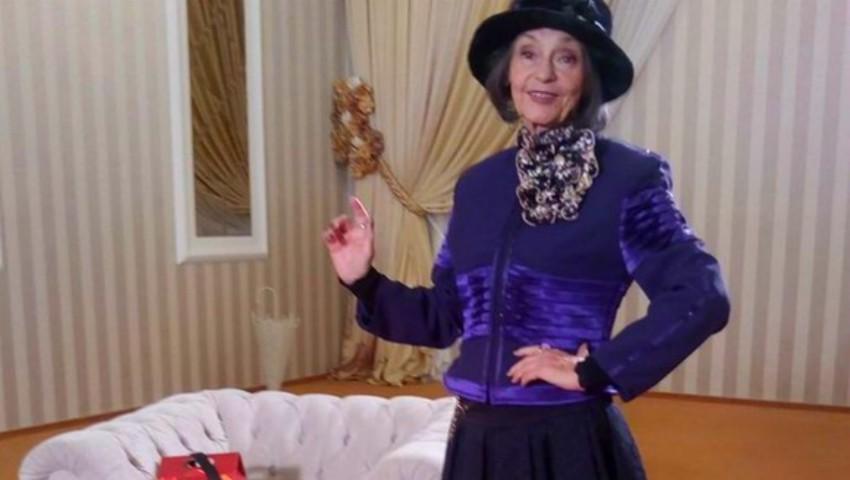 Foto: Marina Voica a împlinit 81 de ani și face o sută de genuflexiuni pe zi