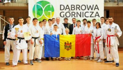 Moldova a cucerit 14 medalii la Campionatul European de karate