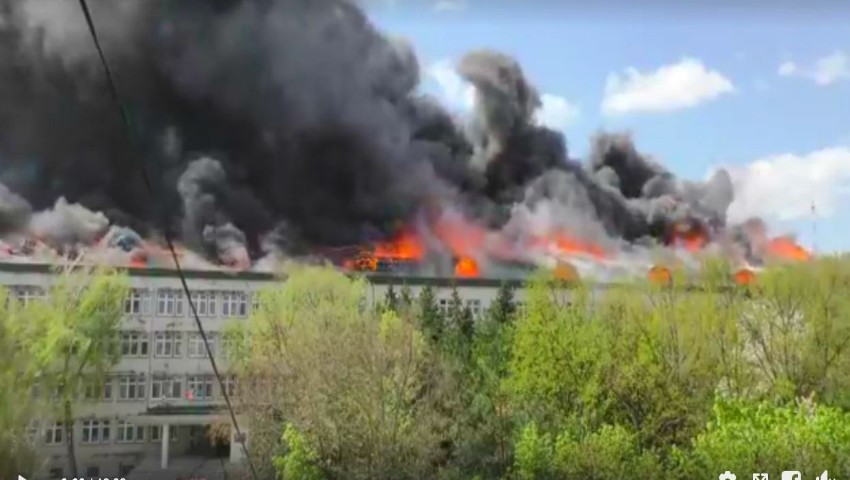 Institutul de Microbiologie al AȘM: flăcările au afectat o suprafaţă de peste 1000 de metri pătraţi. Imagini după dezastru!