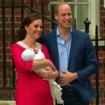 Foto: Video. Ducesa de Cambridge s-a externat împreună cu bebelușul născut în urmă cu câteva ore!
