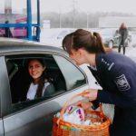 Foto: Video! Cadouri de Paște inedite la trecerea frontierei de stat