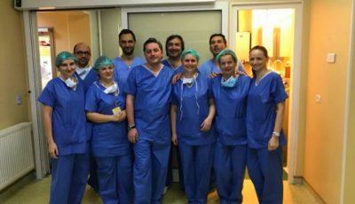 Medicul basarabean Igor Tudorache a efectuat primul transplant pulmonar din România!
