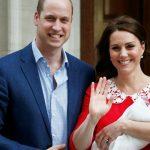 Foto: Primele imagini cu cel de-al treilea copil al cuplului regal britanic!