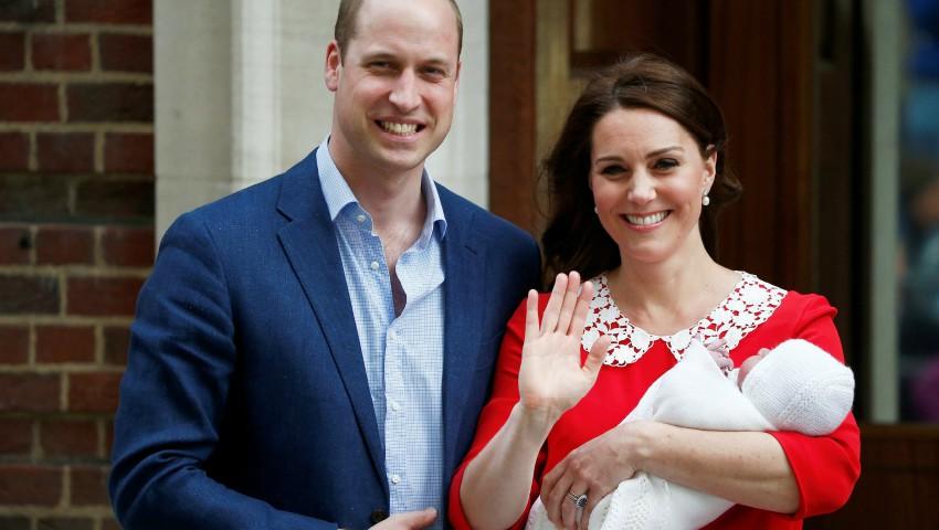 Primele imagini cu cel de-al treilea copil al cuplului regal britanic!