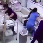 Foto: Video viral. Reacția cadrelor medicale dintr-o maternitate din Coreea de Sud, în timpul unui cutremur