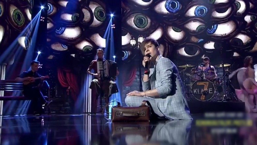 "Foto: Trupa 7 Klase a prezentat un moment inedit în semifinala live ,,Românii au Talent"". Vezi video!"