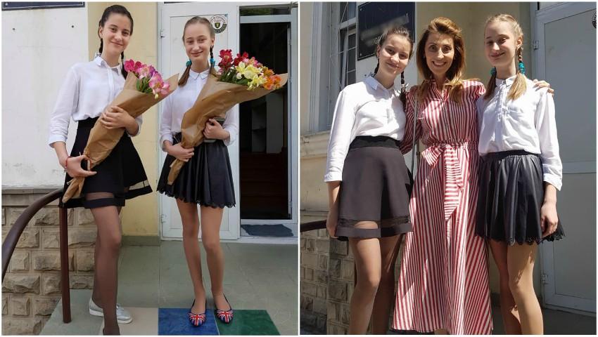 """Foto: Aura, mândră de fetele sale! ,,Au deja o meserie"""""""