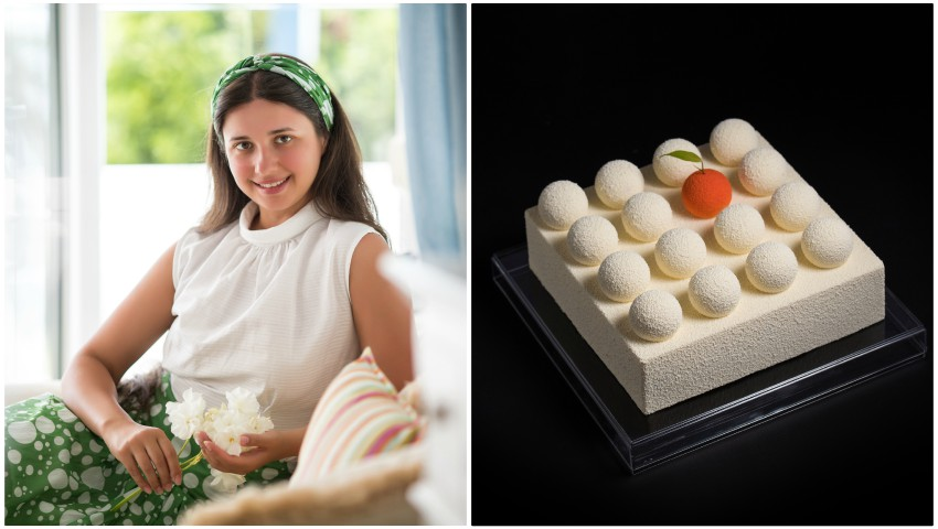 Foto: Olga Calinici face magie în bucătărie! Deserturile ei sunt adevărate opere de artă