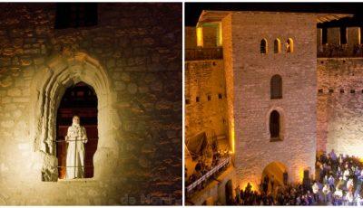 """Fotografii impresionante. Cetatea Soroca a strălucit în """"Noaptea Muzeelor"""""""