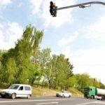 Foto: Un semafor inteligent a fost instalat în Capitală