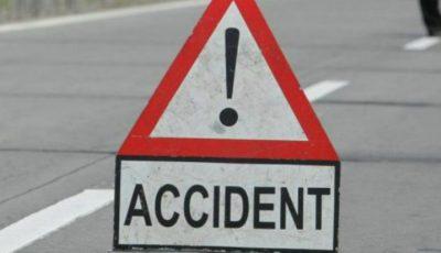 Accident în România! Cinci persoane au fost rănite în urma unui accident cu implicarea unui autocar