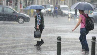 Vreme ploioasă în nordul și sudul țării