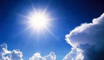 Astăzi, se așteaptă temperaturi de până la 31 de grade Celsius