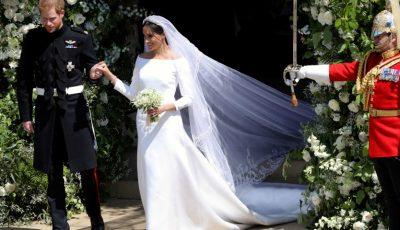 Ce a făcut Meghan Markle cu florile de la nuntă?