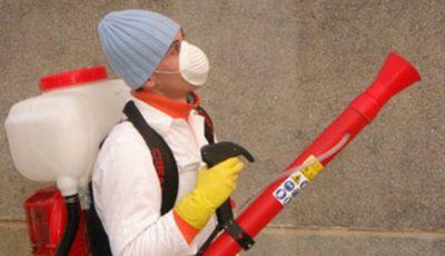 Lucrări de dezinsecție și deratizare au fost efectuate în peste 1200 de blocuri de locuit din Capitală