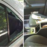 Foto: Hoții au spart mașina Cristinei Scarlat. Reacția interpretei