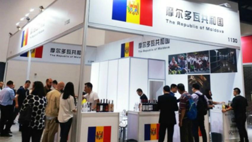 """Peste 80 de vinuri moldovenești au fost expuse la expoziția internațională ,,Top Wine China"""""""