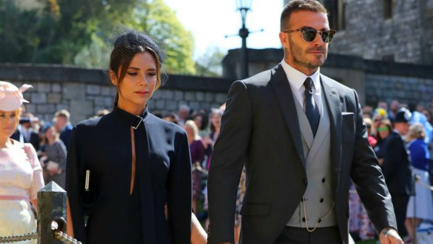 Foto: Victoria Beckham le răspunde celor care au criticat-o pentru ținuta purtată la nunta regală