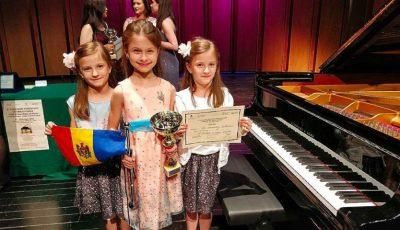 O mică pianistă din Chișinău a câștigat locul 1 la un prestigios concurs de muzică din Italia