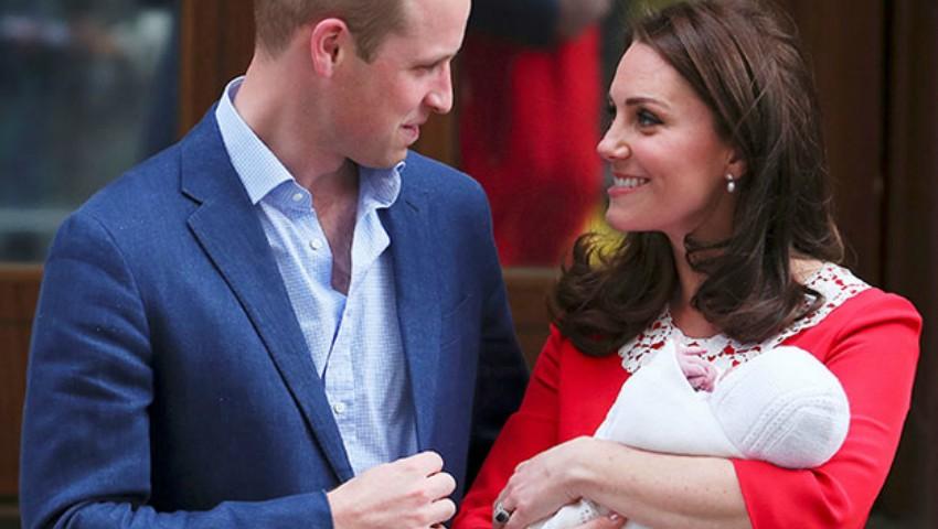 Foto: Certificatul de naștere al Prințului Louis a fost făcut public. Ce funcție ocupă părinții săi?