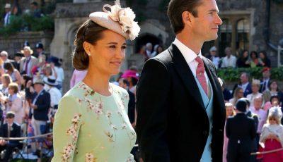 Pippa Middleton a avut prima apariție publică de când a confirmat că este însărcinată. S-a întâmplat la nunta regală