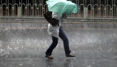 Video!!! Ploaie cu grindină la Căușeni. Un fir rupt, de înaltă tensiune, a ucis trei vaci