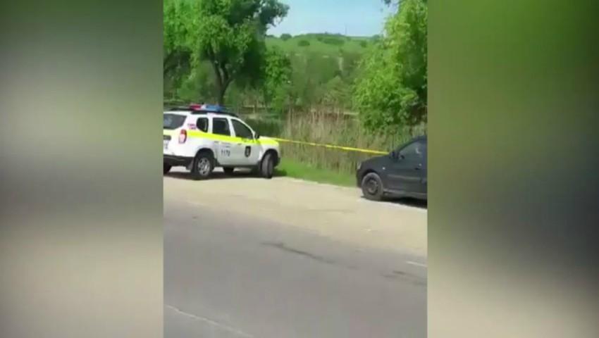 Detalii noi în cazul crimei de la Cricova. Ce spune individul reținut de polițiști
